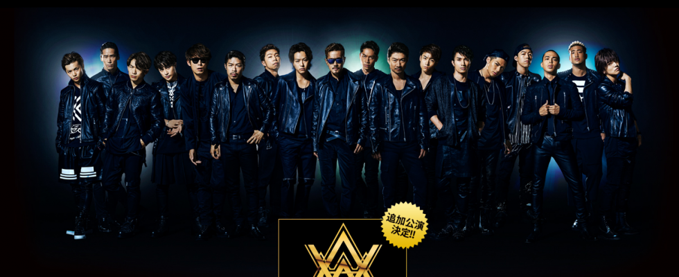 "EXILE LIVE TOUR  ""AMAZING WORLD"" に出演!"